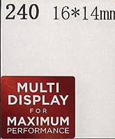 ■【MULTI DISPLAY FOR MAXIMUM】エンブレムシール 16*14mm