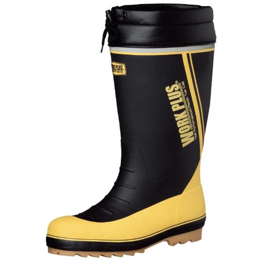 小康気絶させる具体的に[ミドリ安全] 筒太サイズ 防寒長靴 [ワークプラスブーツ] MPB810N ブラック L