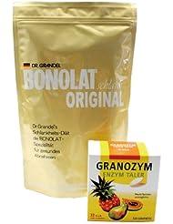ボノラート?オリジナル 600g & グラノザイムセット 無添加 乳プロテイン 携帯酵素タブレット