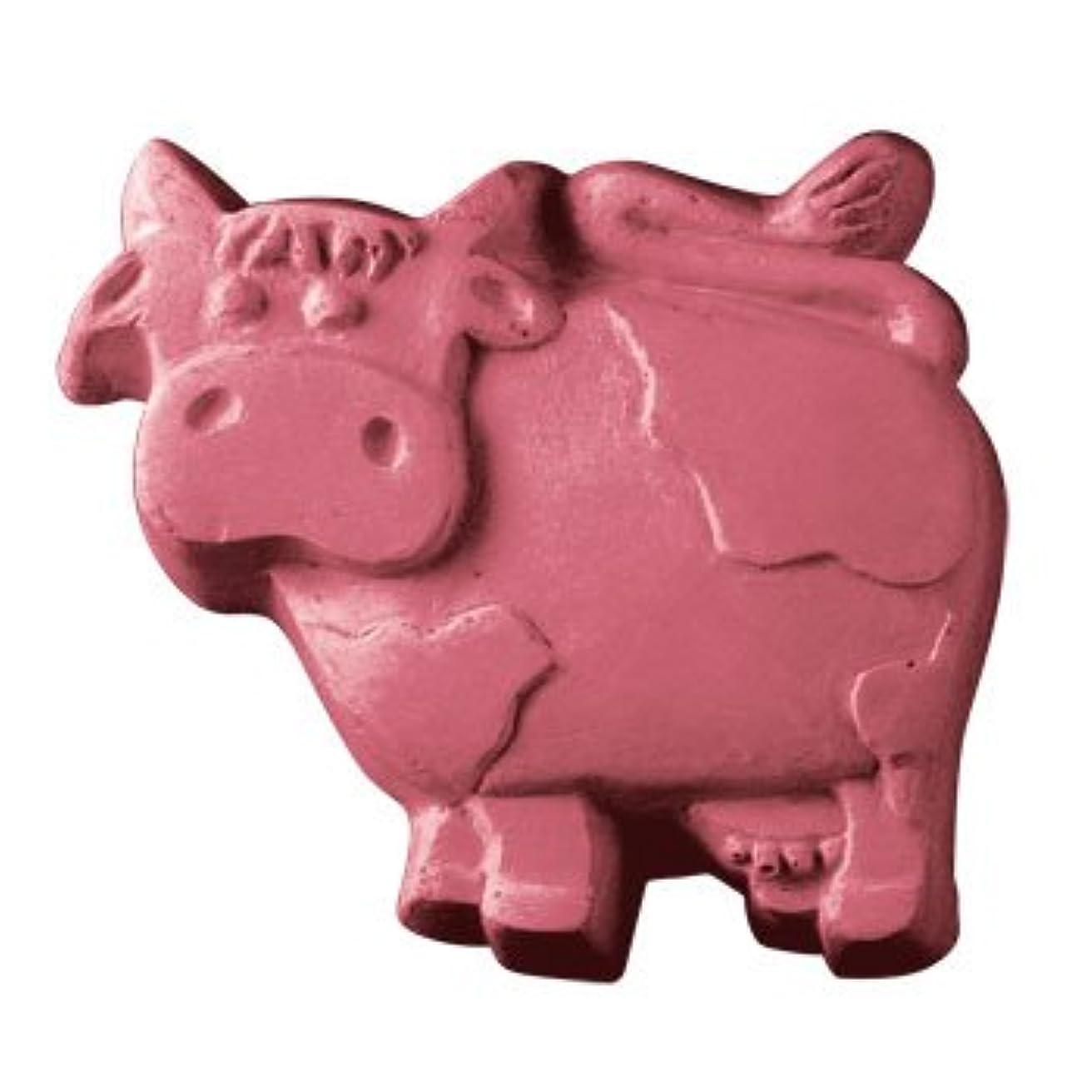ナサニエル区適切にまつげミルキーウェイ 牛さん 【ソープモールド/石鹸型/シートモールド】