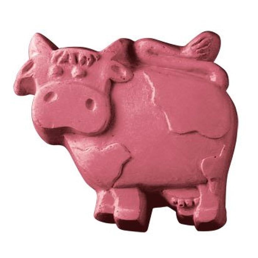 導入する農業洞察力のあるミルキーウェイ 牛さん 【ソープモールド/石鹸型/シートモールド】
