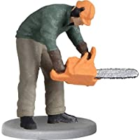 Viessmann 1548 Lumberjack with Chain Saw Moving Figures