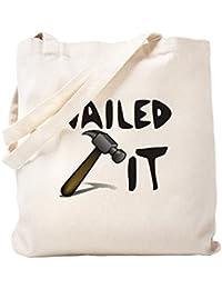 CafePress – Nailed It – ナチュラルキャンバストートバッグ、布ショッピングバッグ S ベージュ 1625891387DECC2