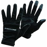 フリーノット(FREE KNOT) フィッシンググローブ レイヤーテック eタッチ ブラック