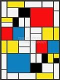 【アート】ピエト・モンドリアン 抽象絵画 キューブ 四角形 ペインティング アートプリントポスター  PIET MONDRIAN ABSTRACT CUBES SQUARES PAINTING 2573OMLV 2573OMLV