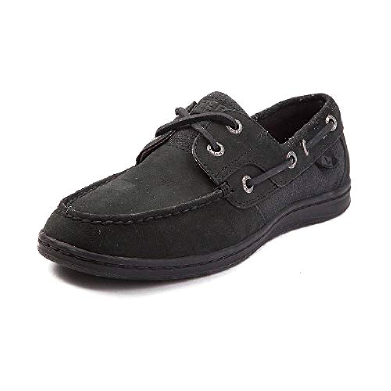 [SPERRY TOPSIDER(スペリートップサイダー)] 靴?シューズ レディースボートシューズ Womens Sperry Top-Sider Koifish Boat Shoe ブラック US 7 (24cm)