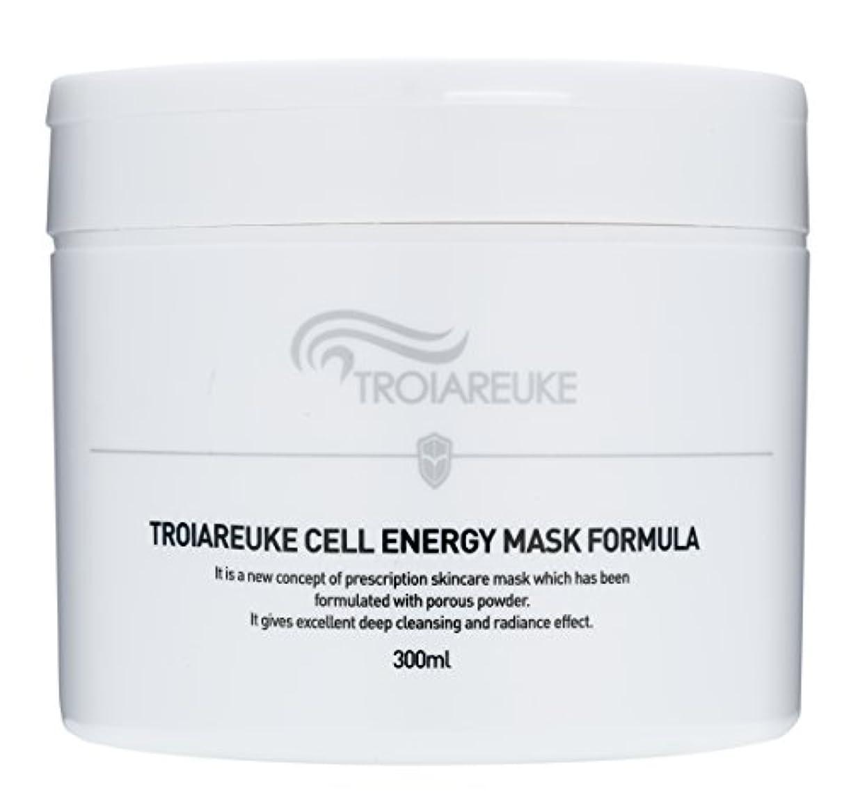 前書き重力気難しいTroiareuke(トロイアルケ) セルエネルギー マスク フォーミュラー/Cell Energy Mask Fomula (300ml) [並行輸入品]