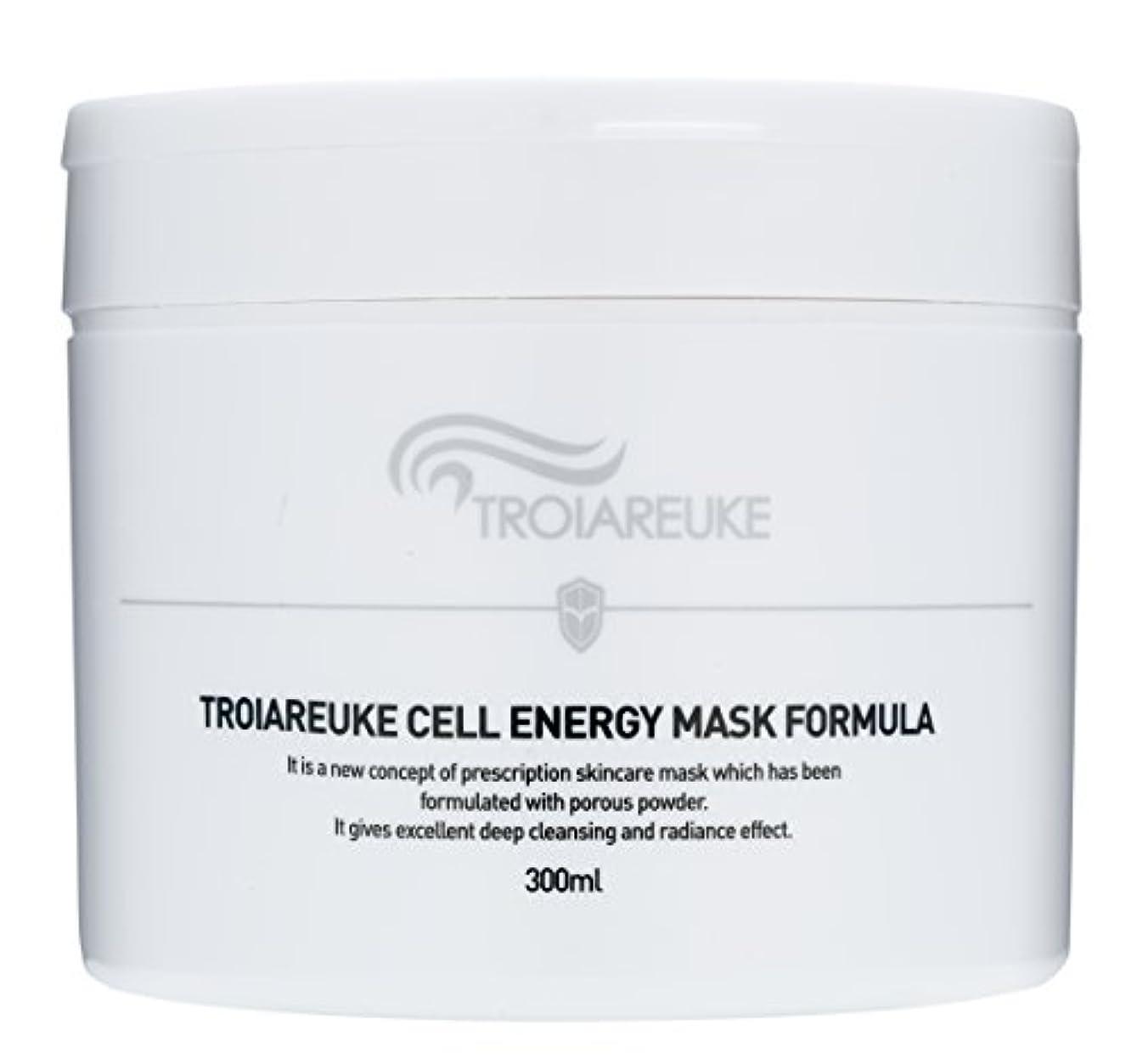 泥沼ダブル殉教者Troiareuke(トロイアルケ) セルエネルギー マスク フォーミュラー/Cell Energy Mask Fomula (300ml) [並行輸入品]