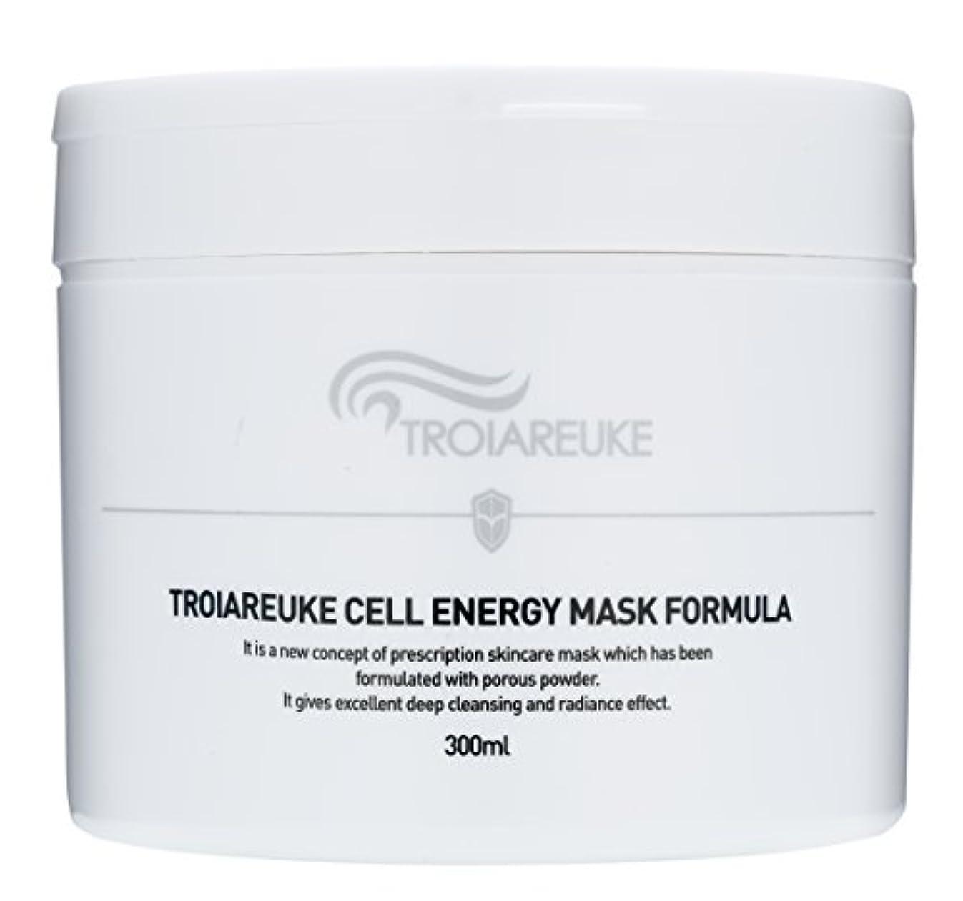 望遠鏡人種スクラッチTroiareuke(トロイアルケ) セルエネルギー マスク フォーミュラー/Cell Energy Mask Fomula (300ml) [並行輸入品]