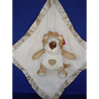 Ellis Baby Blankie Buddies Super Soft 2-in-1 Security Blanket 18x18 Beige Blanket with Baby Lion 7 Sitting Height by Ellis Collections