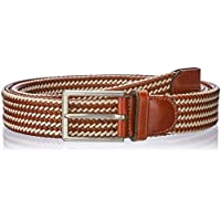 Buckle | 1922 Men's 35 mm Daytona Plaited Belt, Beige, M