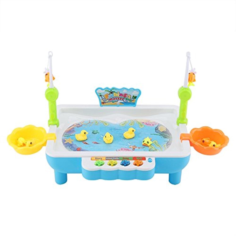 Yosoo 磁石 魚釣り楽園 魚捕り 楽しい釣り 電動 水遊び 釣り遊び 子供 知育玩具 おもちゃ クリスマスプレゼント おもちゃ子供の幼児 ギフト 知育玩具 教育玩具 キッズ