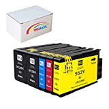 INKMATE Compatible Ink Cartridge Replacement for HP 952XL 952 XL for Officejet Pro 7720 7740 8210 8216 8710 8715 8720 8730 8740 (2Black/1Cyan/1Magenta/1Yellow, 5 Pack)
