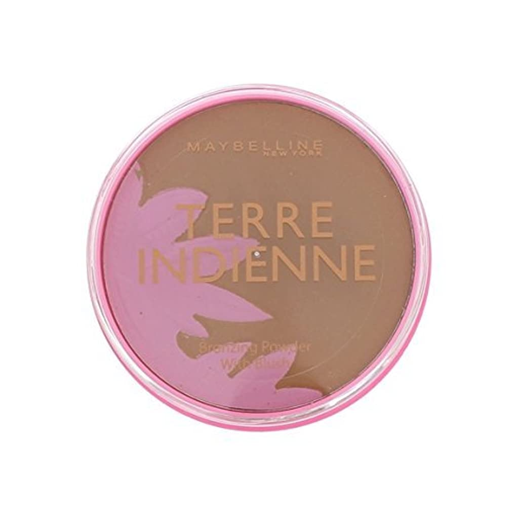 前進九時四十五分にPoudre de Soleil Terre Indienne Gemey Maybelline - 08 Bronzed Paradise by Maybelline