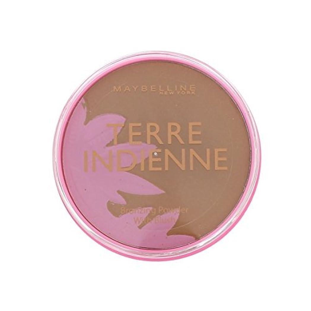 習慣バスタブストライプPoudre de Soleil Terre Indienne Gemey Maybelline - 08 Bronzed Paradise by Maybelline