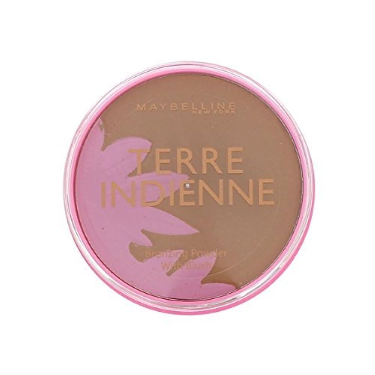 ホイールカビフラッシュのように素早くPoudre de Soleil Terre Indienne Gemey Maybelline - 08 Bronzed Paradise by Maybelline