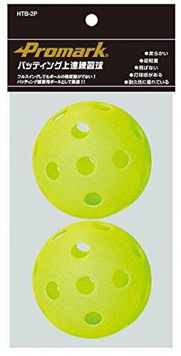 Promark(プロマーク) バッティング上達練習球 2個入り HTB-2P
