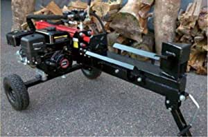 エンジン薪割り機 12t ハイパワーエンジンで簡単操作!