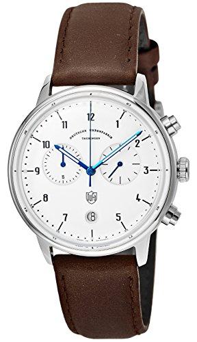 [ドゥッファ]DUFA 腕時計 HannesChrono ホワイト文字盤 DF-9003-02 メンズ 【正規輸入品】