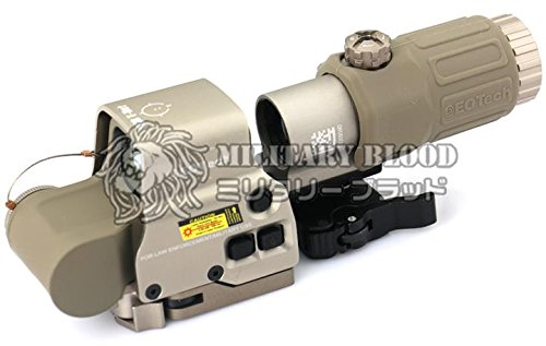 EOTech EXPS3-G33 STSタイプ 3倍ブースターホロサイトセット TAN