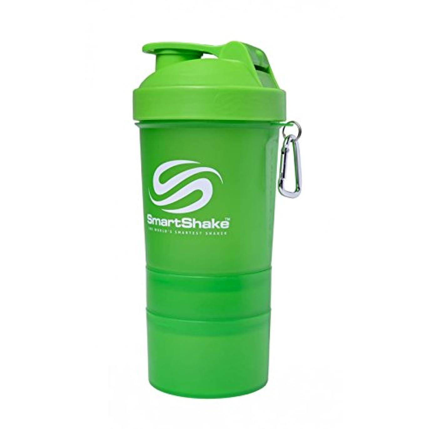 退化する指導する破壊SmartShake 600ml/ 20oz Neon Green