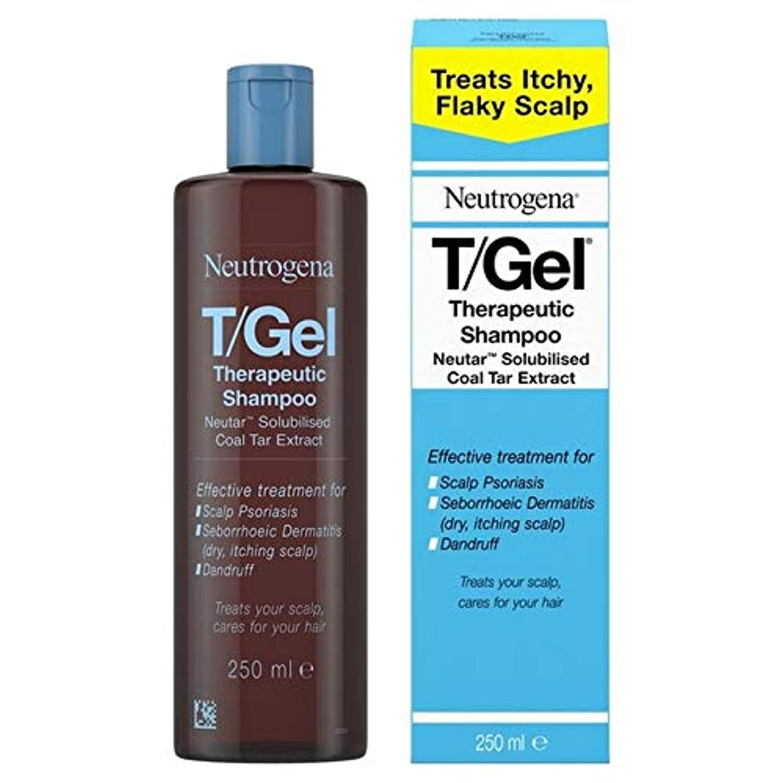 [Neutrogena ] ニュートロジーナT-ゲル治療用シャンプー250Ml - Neutrogena T-Gel Therapeutic Shampoo 250ml [並行輸入品]