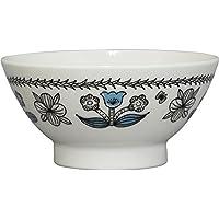 山加商店 飯碗 ブルー 12cm mug for all お日さまと花 ライスボウル 花柄 MGN80-3-312