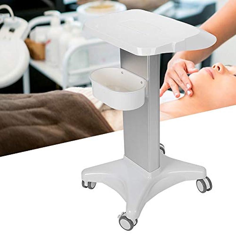 喉頭実業家常にローラー台座付き美容院トロリー多目的ユーティリティカート