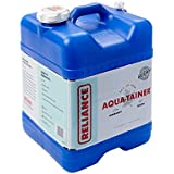 Reliance Products Aqua-Tainer 7 Gallon Rigid Water Container, Blue, 11.3 Inch x 11.0 Inch x 15.3 Inch