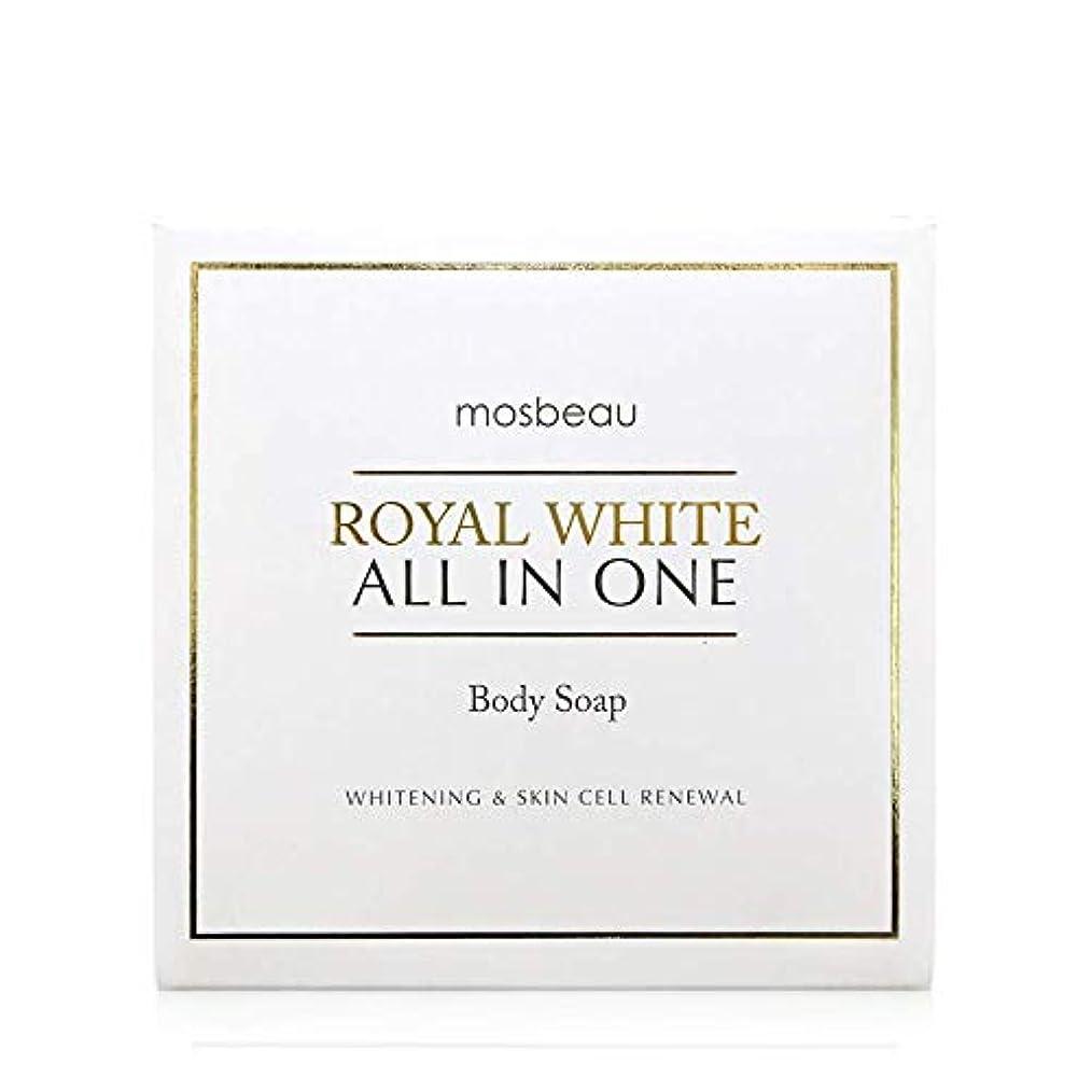 プーノマットレストピックmosbeau ROYAL WHITE ALL-IN-ONE BODY SOAP 100g ロィヤルホワイトオールインワンボディーソープ