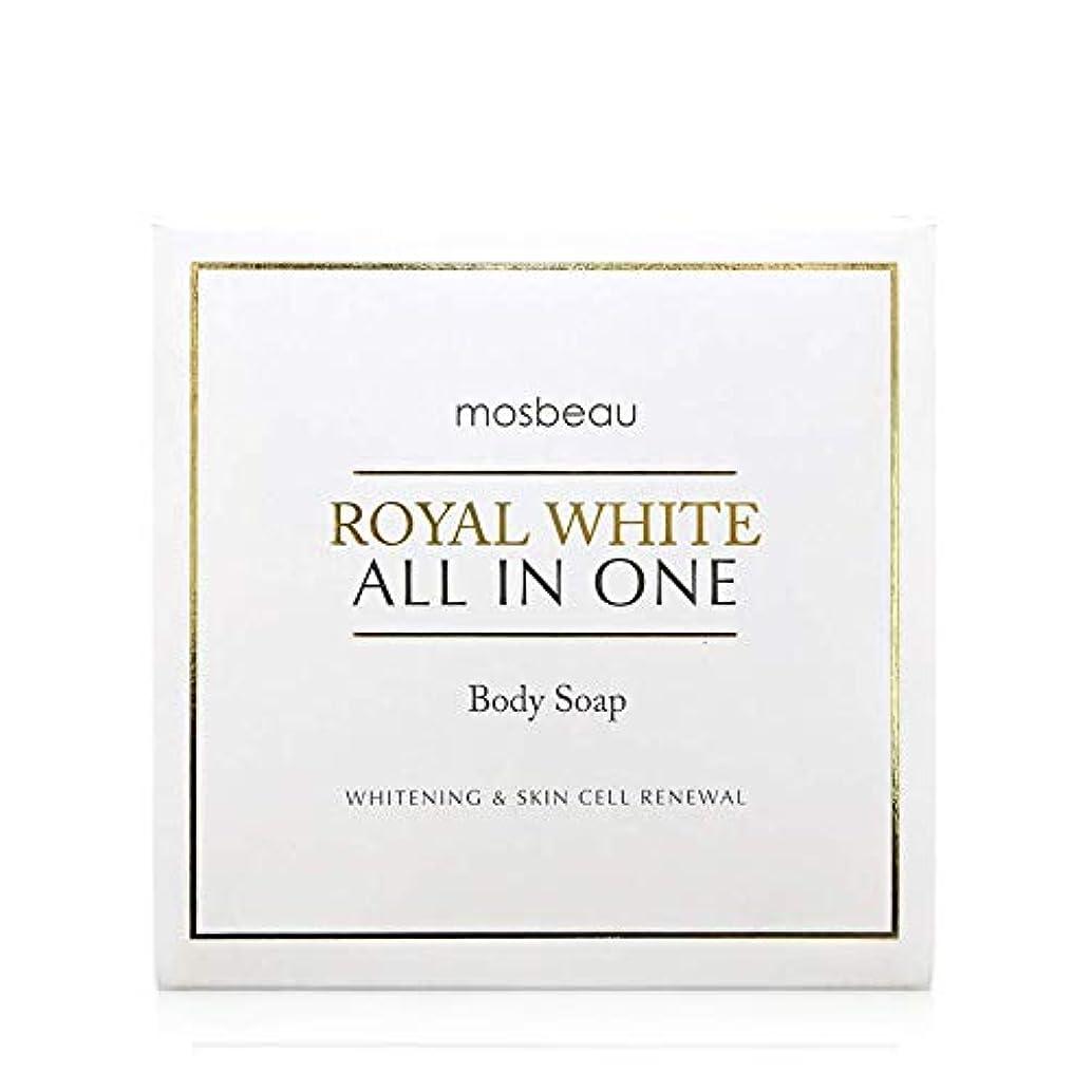 バンド概して準備ができてmosbeau ROYAL WHITE ALL-IN-ONE BODY SOAP 100g ロィヤルホワイトオールインワンボディーソープ
