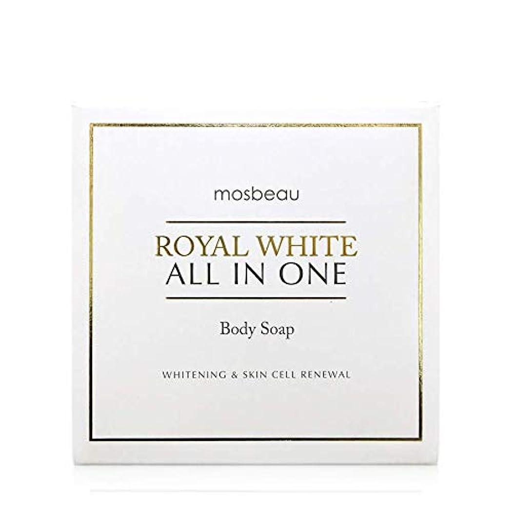 チチカカ湖合併症望みmosbeau ROYAL WHITE ALL-IN-ONE BODY SOAP 100g ロィヤルホワイトオールインワンボディーソープ