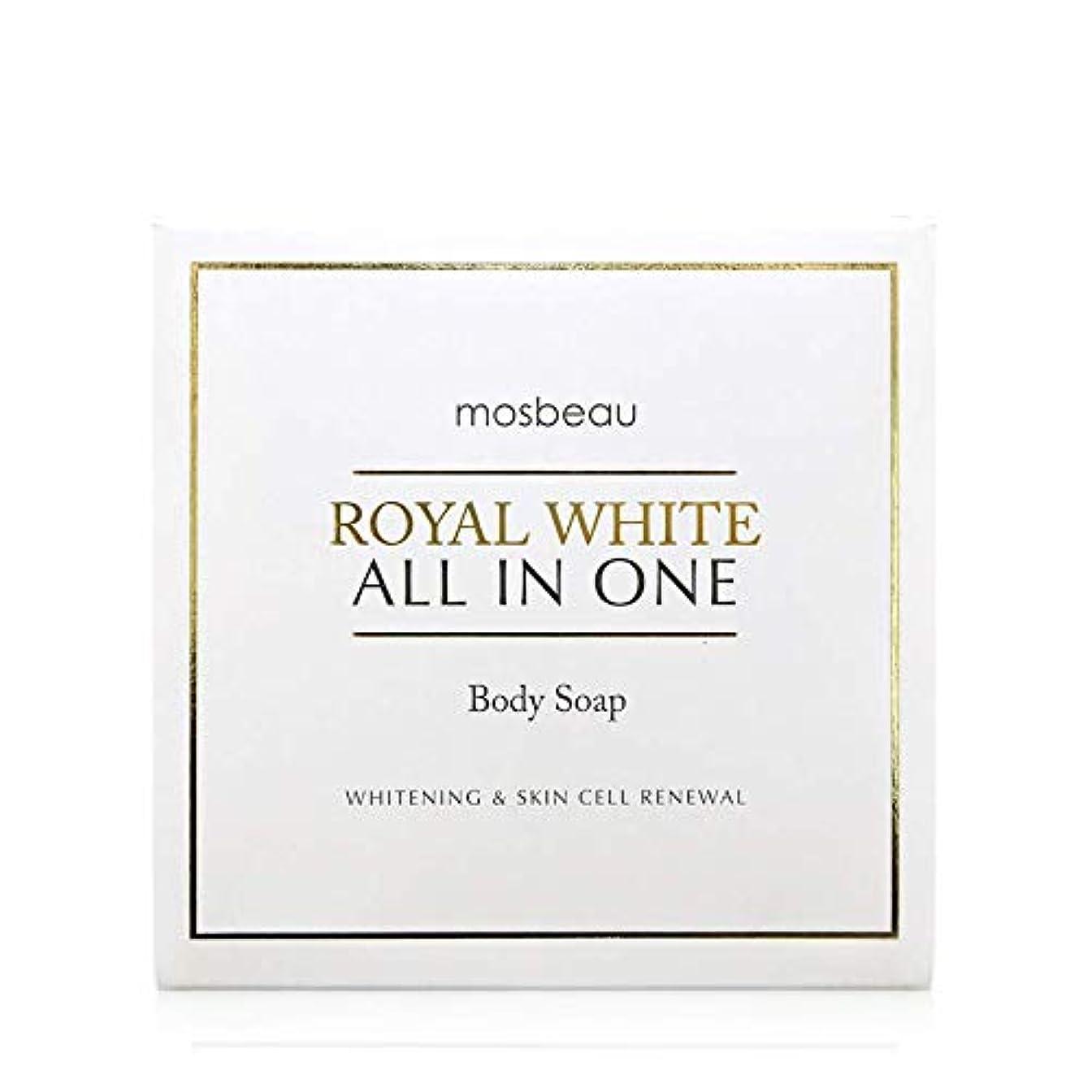 探す媒染剤正しくmosbeau ROYAL WHITE ALL-IN-ONE BODY SOAP 100g ロィヤルホワイトオールインワンボディーソープ
