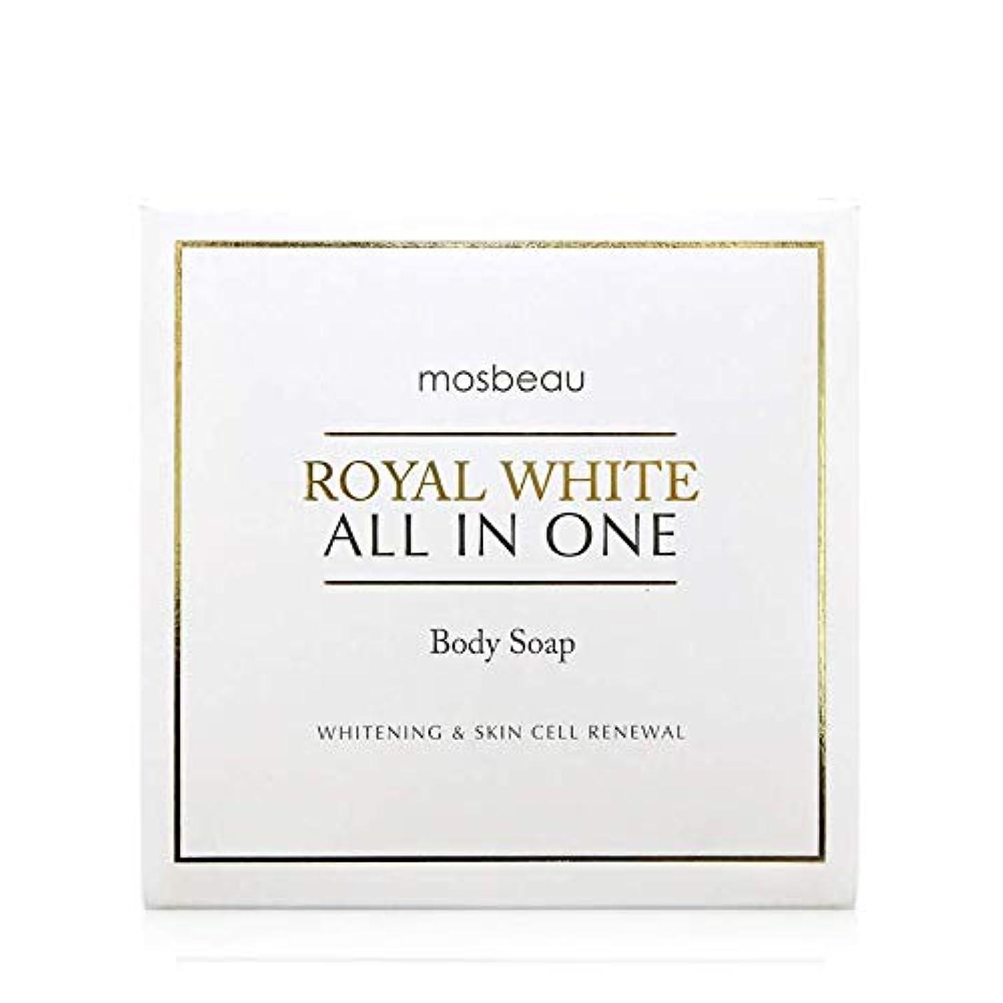 歴史奪う旧正月mosbeau ROYAL WHITE ALL-IN-ONE BODY SOAP 100g ロィヤルホワイトオールインワンボディーソープ
