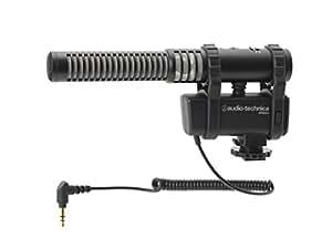 audio-technica モノラルステレオカメラマウントマイクロホン AT8024