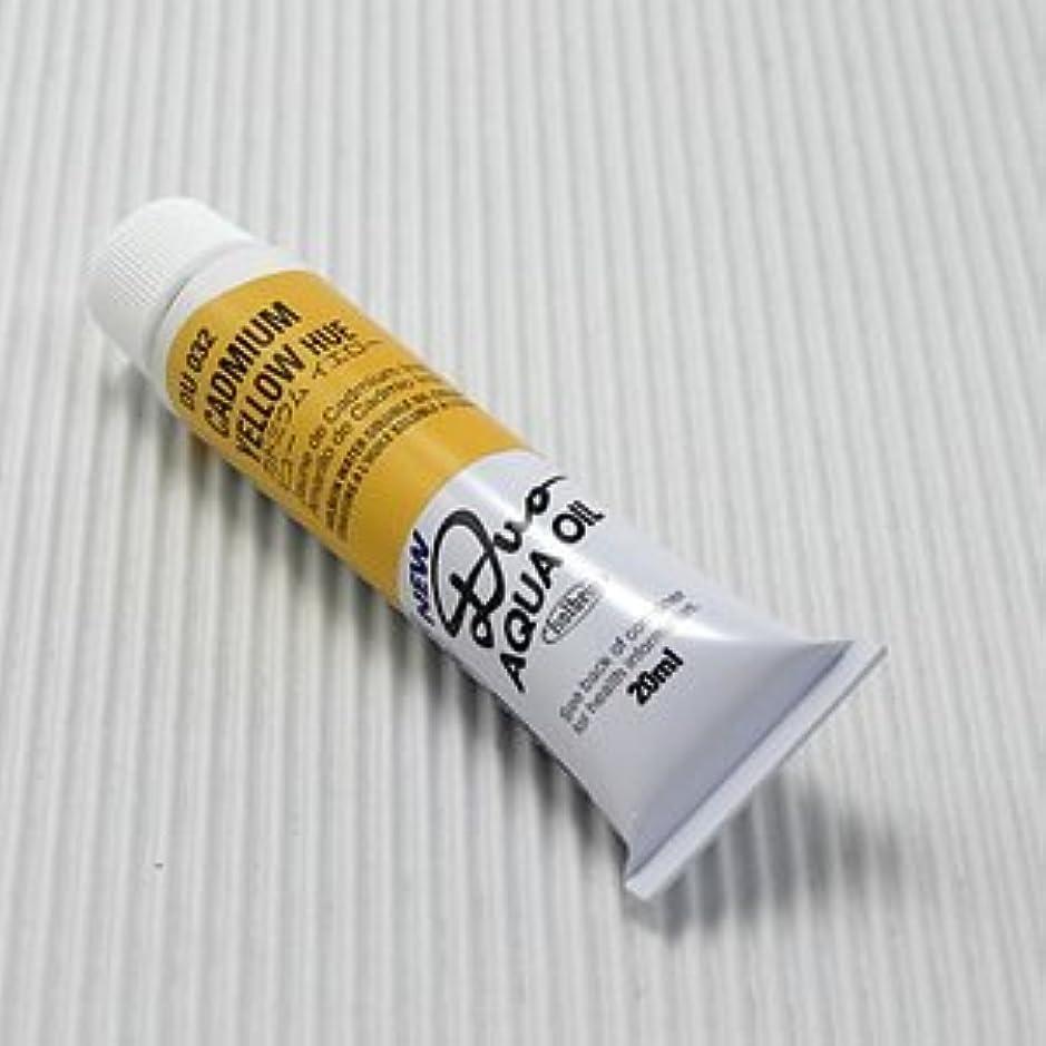 変形する服ブラウンホルベイン 油絵具 アクアオイルカラー DUO カドミウムイエローヒュー DU032 20ml(6号)