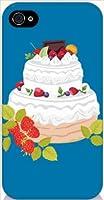 ohama iPhone4s ハードケース y042_d スイーツ 洋菓子 デコレーションケーキ スマホ ケース スマートフォン カバー カスタム ジャケット softbank au