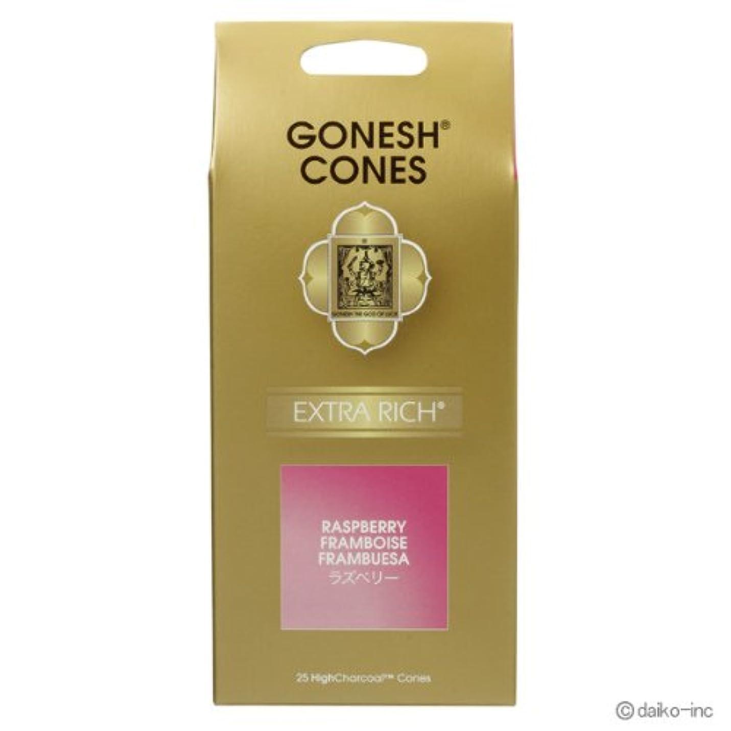 選ぶ課す施しガーネッシュ GONESH エクストラリッチ ラズベリー お香コーン25ヶ入 6個セット