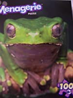 Menagerie 100ピース動物パズル~ Green Frog
