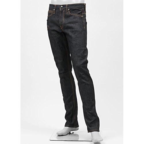 (ジミー タヴァニティ) JIMMY TAVERNITI ジップフライジーンズ 28サイズ BLACKIE TIGHT FIT/REGULAR RISE/NARROW LEG インディゴブルー [並行輸入品]