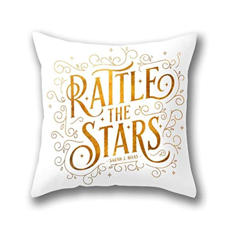 HFYZT Rattle The Stars クッションカバー 標準 18 x 18インチ