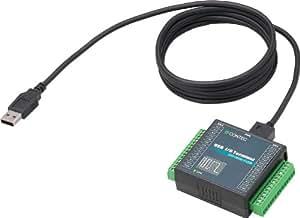コンテック 絶縁型デジタル入出力ターミナル DIO-0808LY-USB
