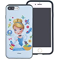 5a923b560a iPhone 8 ケース/iPhone 7 ケース/Disney Princess ディズニー 姫 ダブル バンパー ケース/二層構造 TPUケース  + PCカバー/デュアルレイヤー 耐衝撃 薄型 衝撃吸収 ...