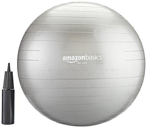 Amazonベーシック バランスボール 55cm ハンドポンプ付