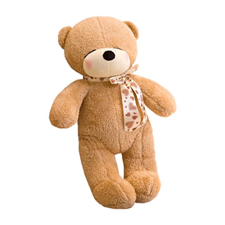 ぬいぐるみ クマ 80CM 熊  テディベア プレゼント ギフト 子供 彼女彼氏 誕生日 入学 入園 お祝い 店飾り インテリア 抱き枕 ふわふわ ふかふか 可愛い ブラウン