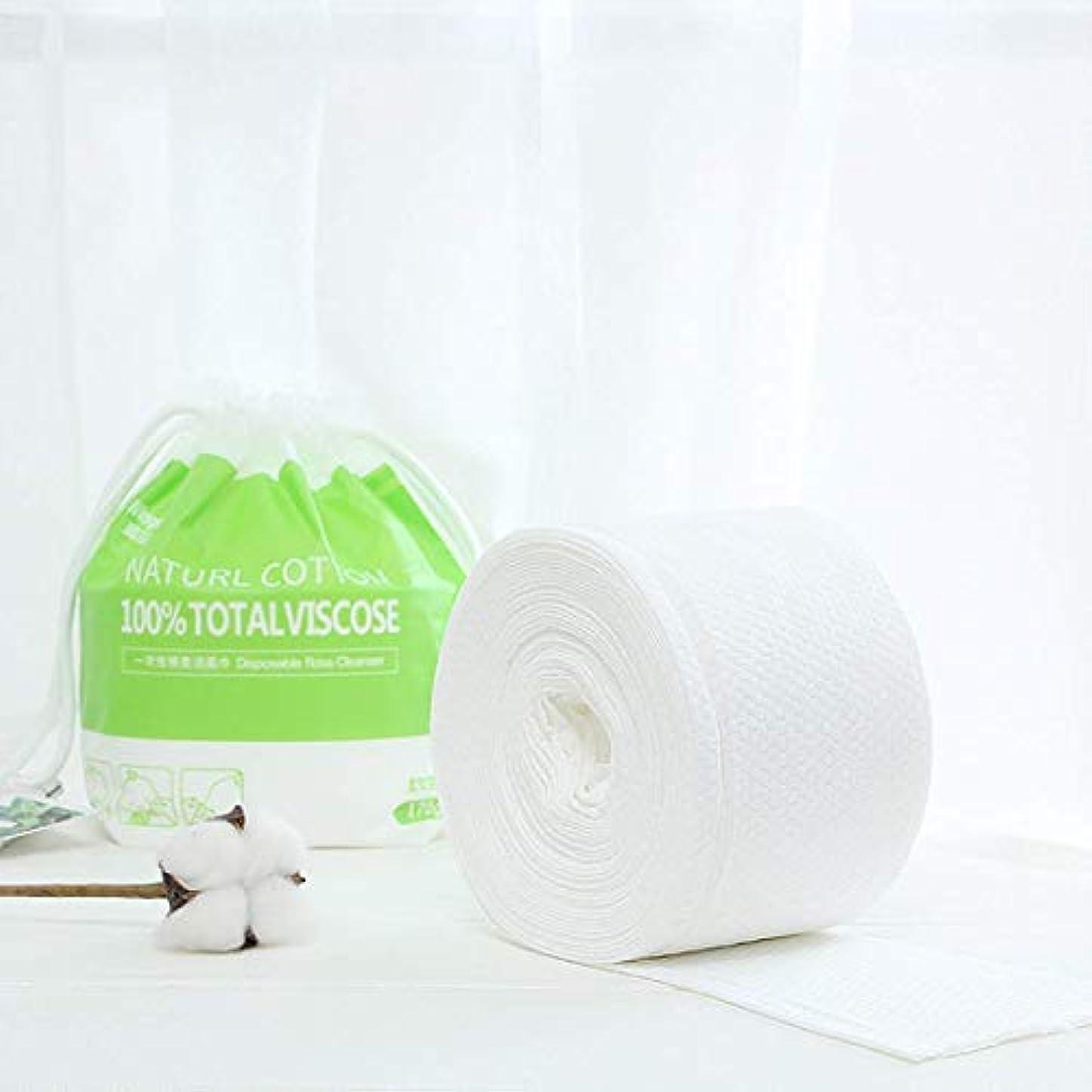 むさぼり食うプラスメールを書く高品質の綿ウェットとドライタオルフェイシャル柔軟化使い捨てクレンジングタオル80ピースポータブル
