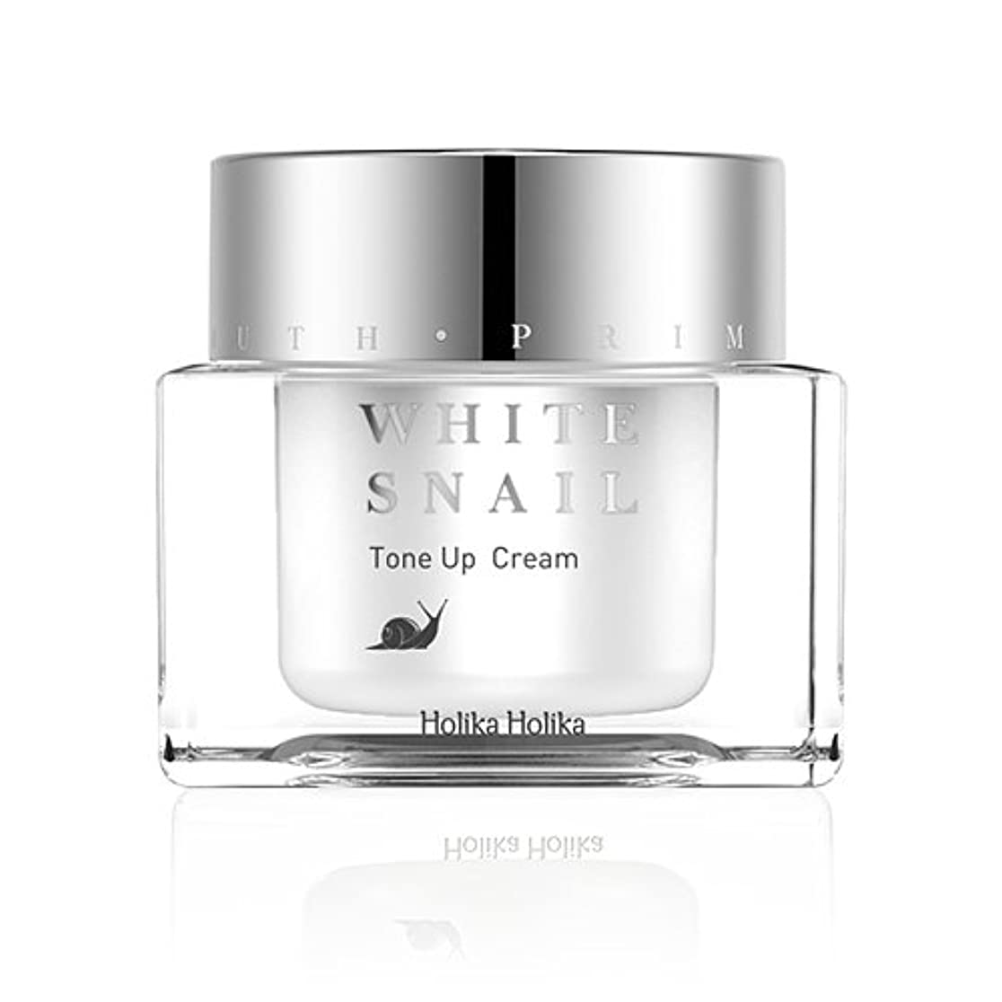 淡いペインティング隣接するHolikaHolika(ホリカホリカ) Prime Youth White Snail Tone-Up Cream プライムユースホワイトスネイルトーンアップクリーム カタツムリ エスカルゴ [並行輸入品]
