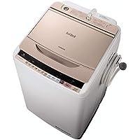 日立 全自動洗濯機 ビートウォッシュ 9kg シャンパン BW-V90B N