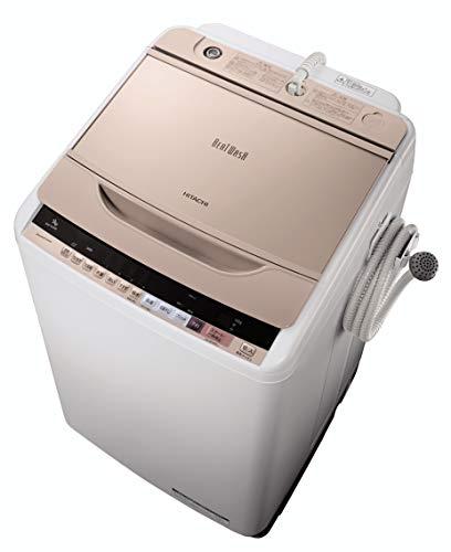 日立 全自動洗濯機 ビートウォッシュ 9kg シャンパン B...