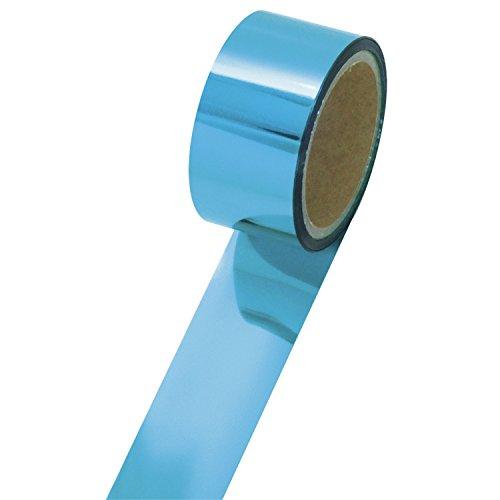 テープ 40-4455 メッキテープ 小巻タイプ 6個 青